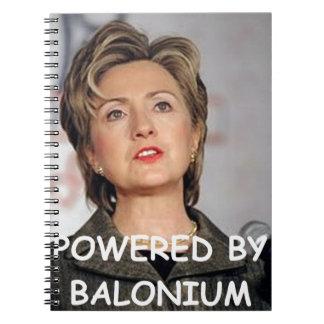 Hilary anti Clinton Libretas