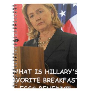 Hilary anti Clinton Libretas Espirales