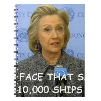 Hilary anti Clinton Libreta