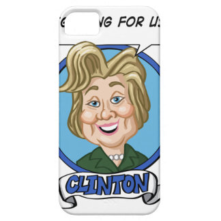 Hilary Clinton Election 2016 iPhone SE/5/5s Case
