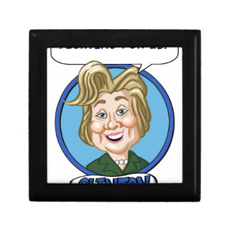 Hilary Clinton Election 2016 Keepsake Box