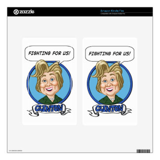 Hilary Clinton Election 2016 Skins For Kindle Fire