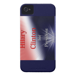 Hilary Clinton For President Dulled Explosion iPhone 4 Cases