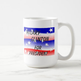 Hilary Clinton For President Fading Red White And Coffee Mug