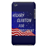 Hilary Clinton For President Night Sky iPod Touch Case-Mate Case