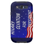 Hilary Clinton For President Night Sky Galaxy SIII Covers