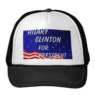 Hilary Clinton For President Night Sky Trucker Hat