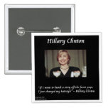 Hilary Clinton Hairstyles & Headlines Quote Button