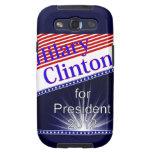 Hilary Clinton para presidente Explosion Galaxy S3 Carcasas