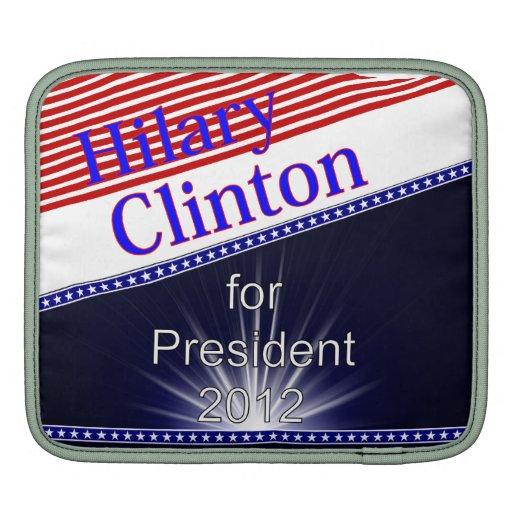 Hilary Clinton para presidente Explosion Mangas De iPad
