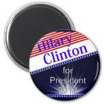 Hilary Clinton para presidente Explosion Iman De Frigorífico