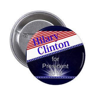 Hilary Clinton para presidente Explosion Pin