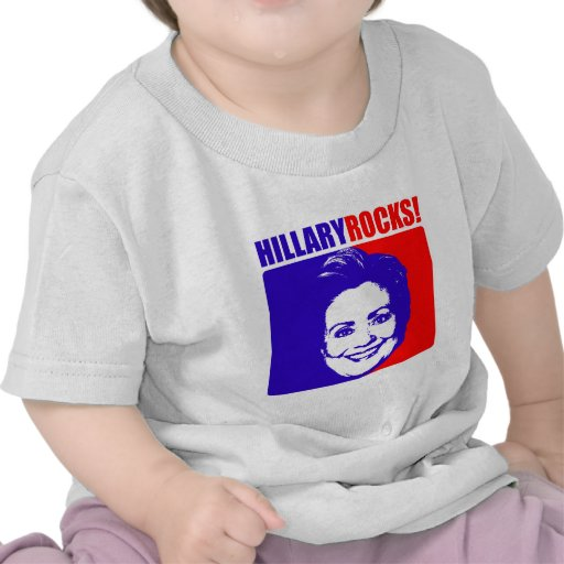 "Hilary ""Clinton"" Rocks! Tees"