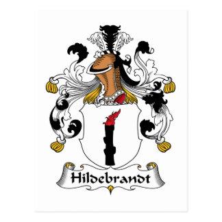 Hildebrandt Family Crest Postcard