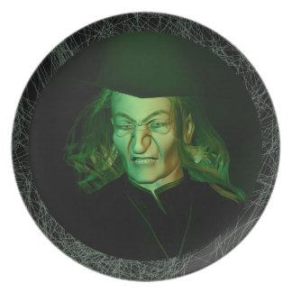 Hildegard el Spellmaker gruñón Plato De Cena