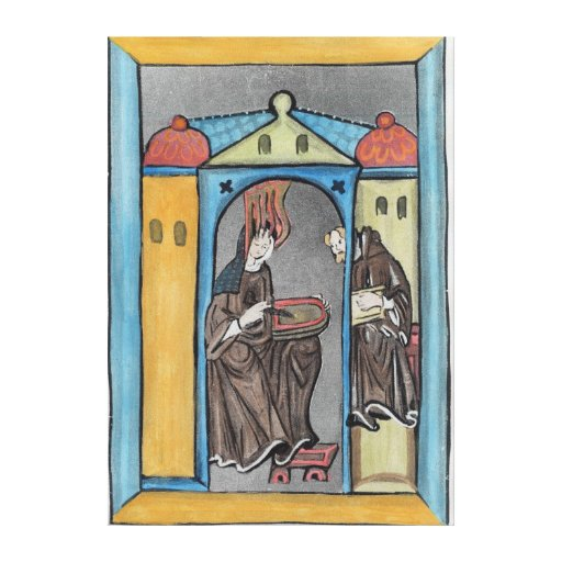 Hildegard of Bingen Canvas Print