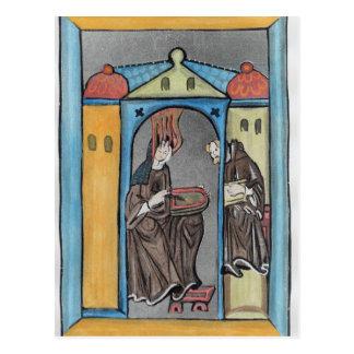 Hildegard of Bingen Postcard