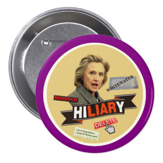 HiLIARy 3 Inch Round Button
