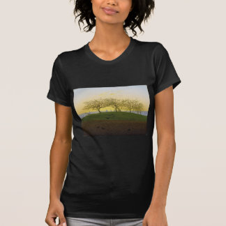 Hill and Plowed Field Near Dresden T-Shirt