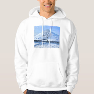 Hill and Tree Derbyshire 2008 Hoodie