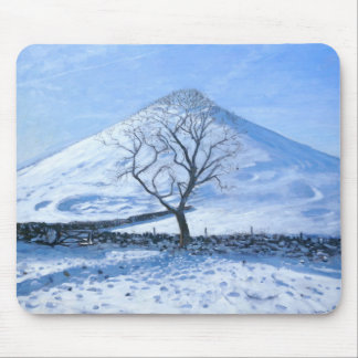 Hill and Tree Derbyshire 2008 Mouse Pad