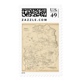 Hill, Canterbury Postage Stamp