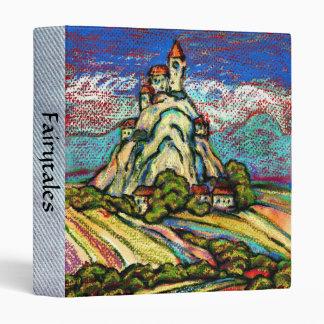 Hill Castle Fantasy Folder 3 Ring Binder