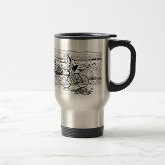 Hill climbing travel mug