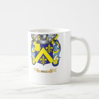 Hill Coat of Arms Family Crest Coffee Mugs