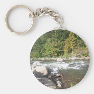 Hill Country River Keychain