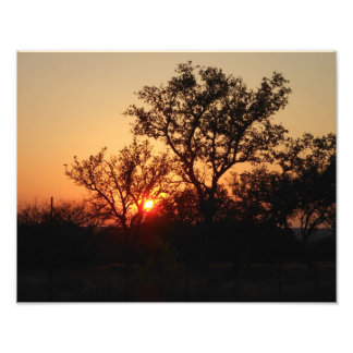 Hill Country Sunsets Photo Print