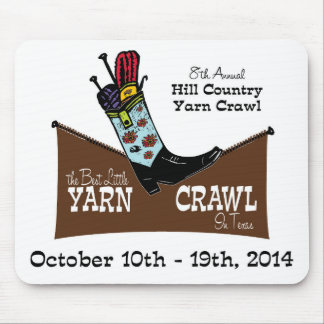 Hill Country Yarn Crawl Mouse Pads