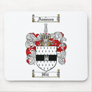 HILL FAMILY CREST -  HILL COAT OF ARMS MOUSE PAD