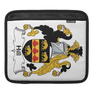 Hill Family Crest iPad Sleeve