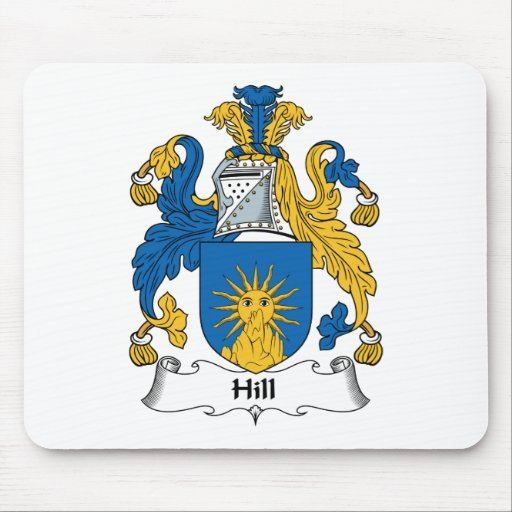 Hill Family Crest Mouse Pad
