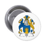 Hill Family Crest Pin