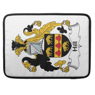 Hill Family Crest Sleeves For MacBook Pro
