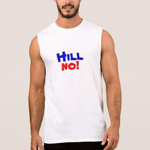 Hill no! men's shirt