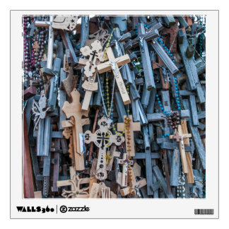 Hill of Crosses Wall Decal