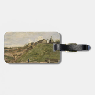 Hill of Montmartre with Stone Quarry by Van Gogh Luggage Tag
