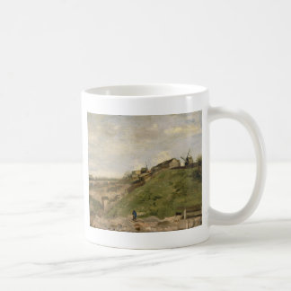Hill of Montmartre with Stone Quarry by Van Gogh Classic White Coffee Mug