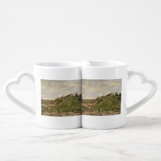 Hill of Montmartre with Stone Quarry by Van Gogh Couples' Coffee Mug Set