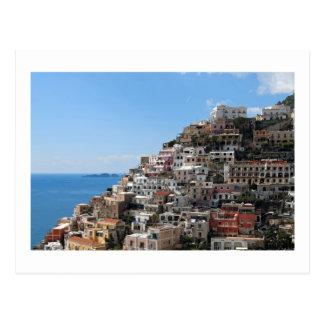 Hill-side Town of Positano on Amalfi Coast, Italy Postcard