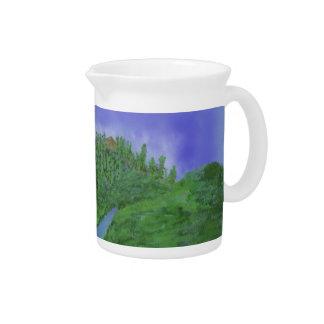 Hill & stream pitcher