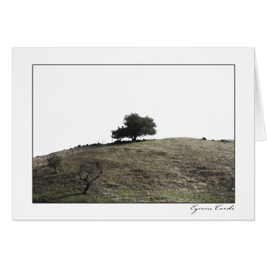Hill Top Tree Card