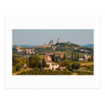 Hill town of of San Gimignano, Tuscany, Italy Postcards