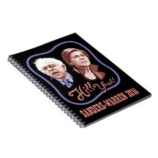Hill Yeah! Sanders-Warren Notebook