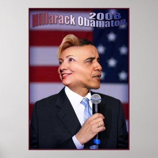Hillarack Obamaton Posters