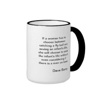 Hillarious Baseball Quote Mug