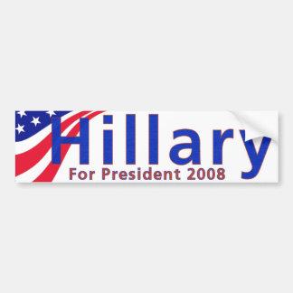 Hillary 08 bumper sticker